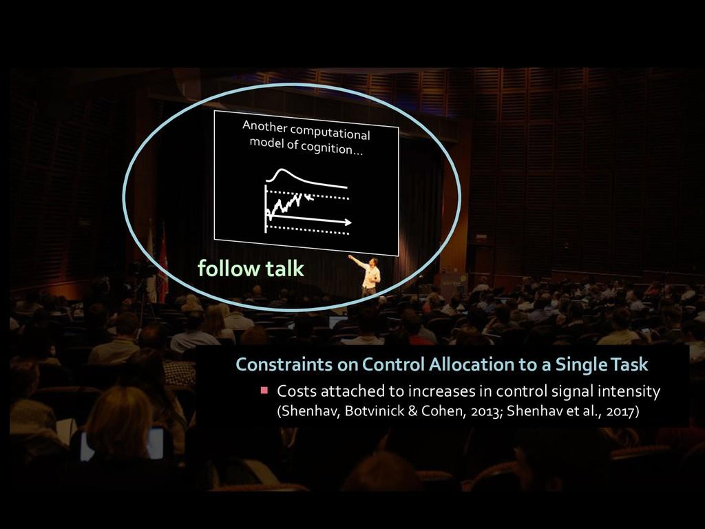 follow talk Constraints on Control Allocation t...