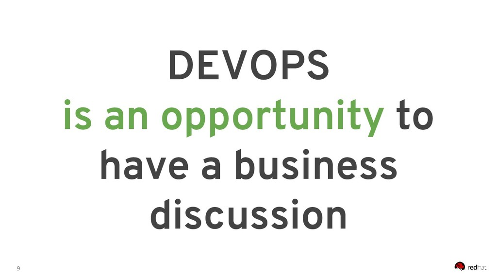 9 DEVOPS is an opportunity to have a business d...