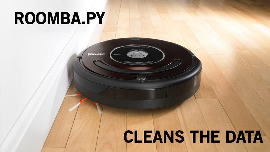 ROOMBA.PY CLEANS THE DATA
