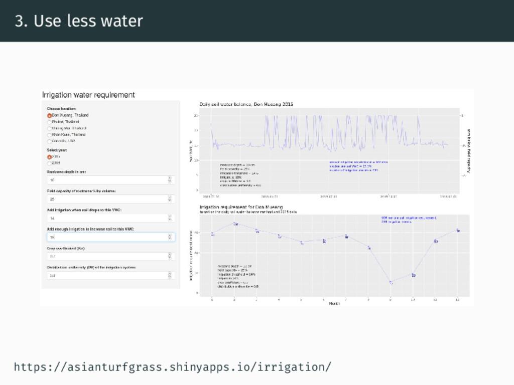 3. Use less water https://asianturfgrass.shinya...
