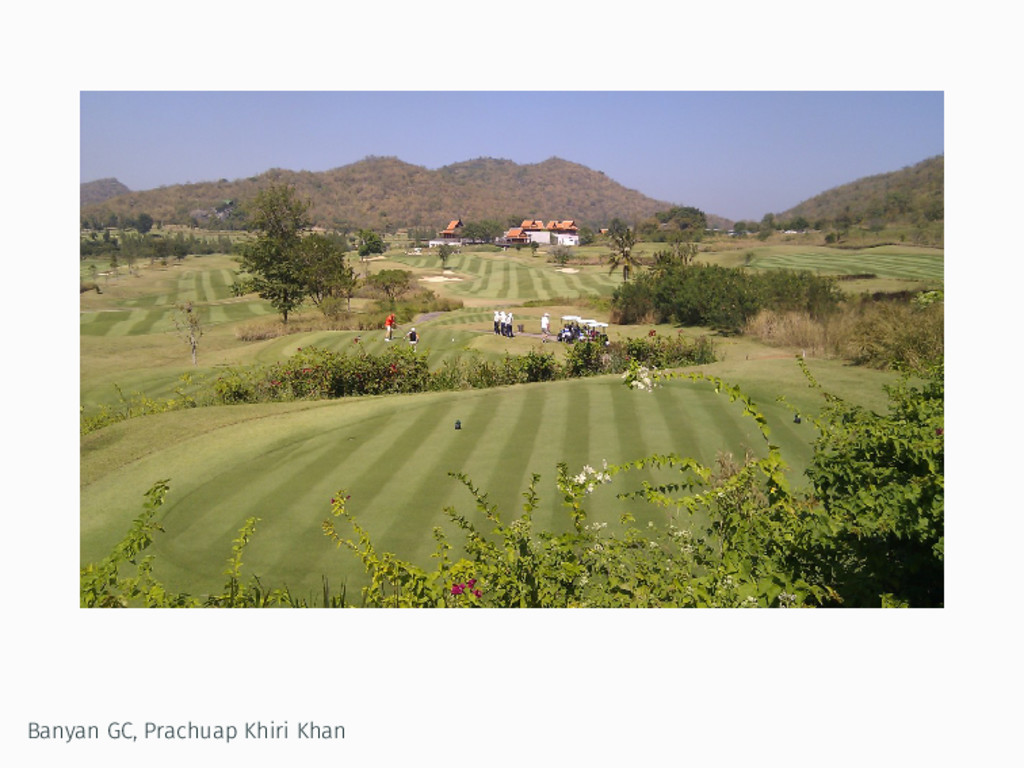 Banyan GC, Prachuap Khiri Khan