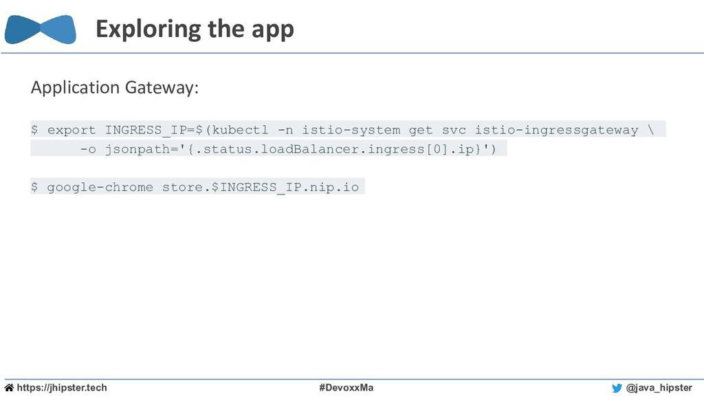 https://jhipster.tech #DevoxxMa @java_hipster E...