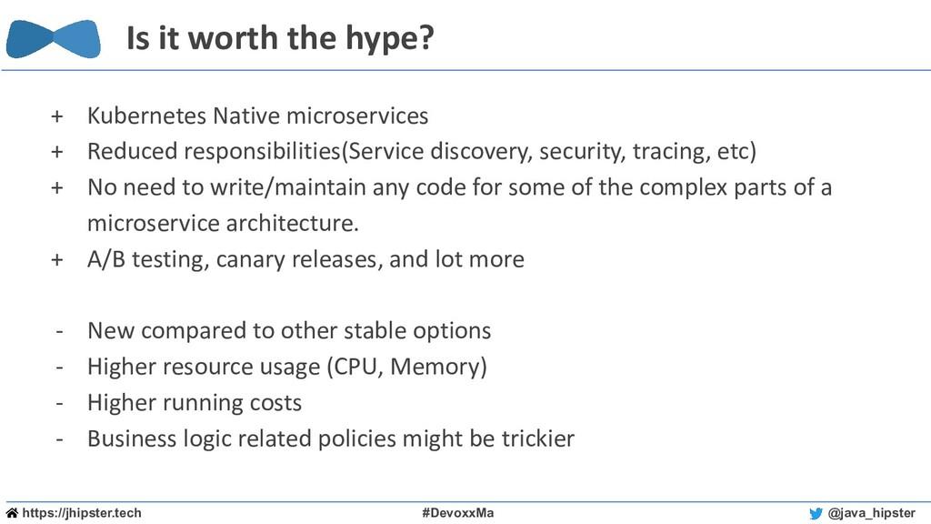 https://jhipster.tech #DevoxxMa @java_hipster I...
