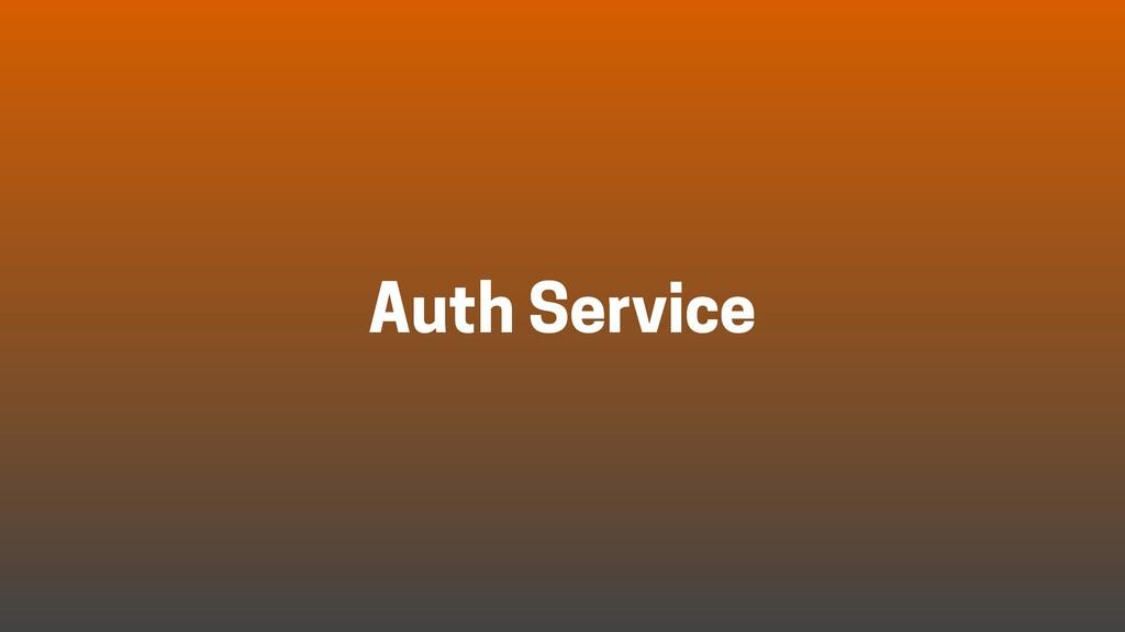 Auth Service
