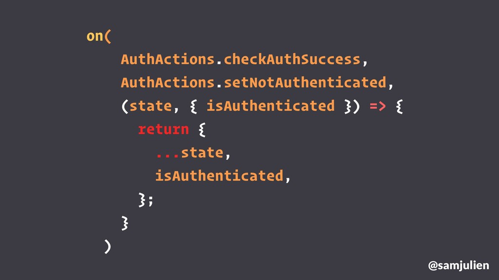 on( AuthActions.checkAuthSuccess, AuthActions.s...