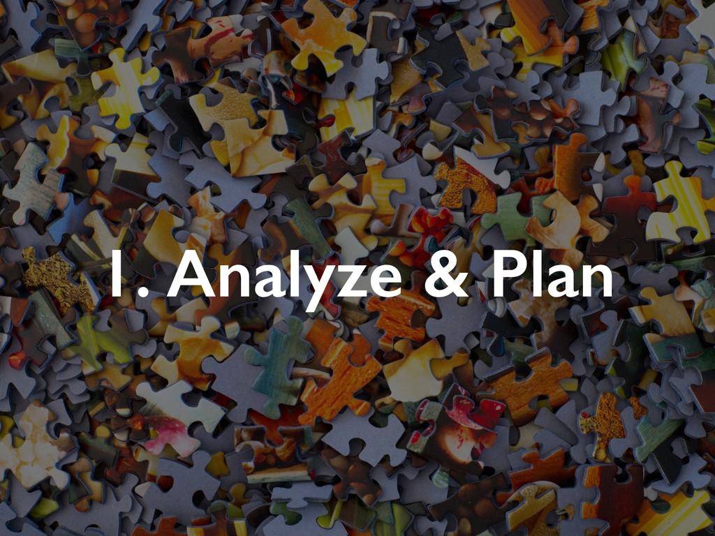 1. Analyze & Plan