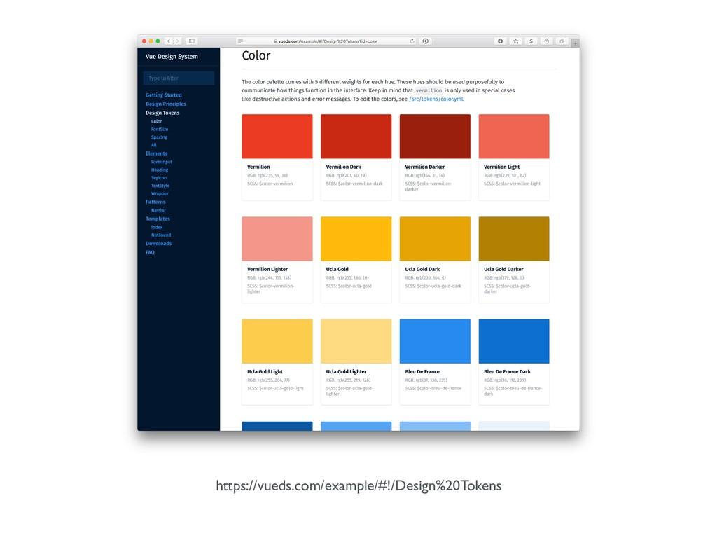 https://vueds.com/example/#!/Design%20Tokens