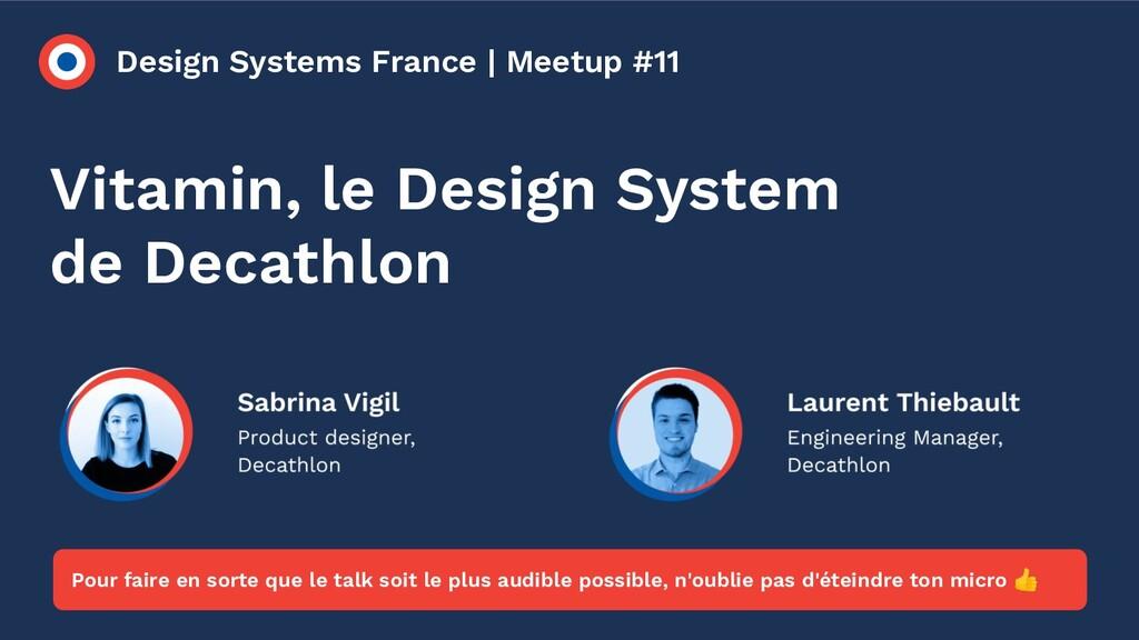 Design Systems France | Meetup #11 Vitamin, le ...