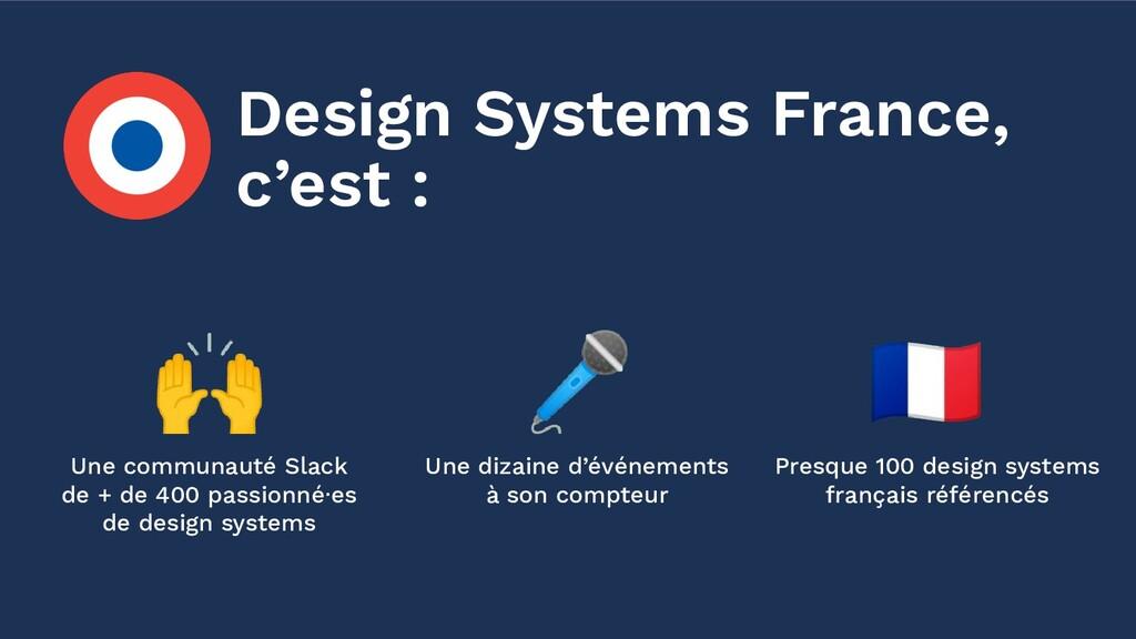 Design Systems France, c'est : Une communauté S...