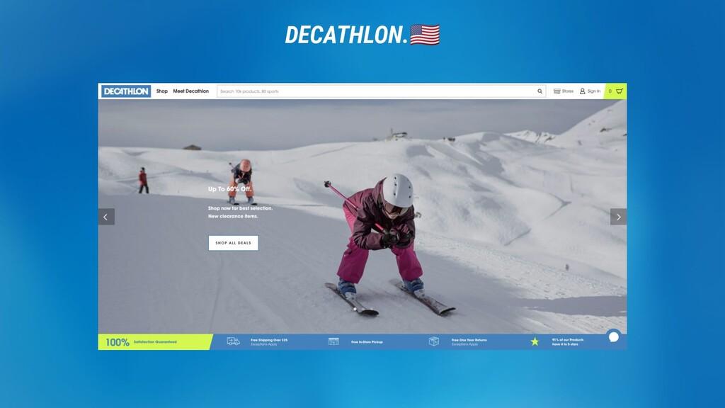 DECATHLON. DECATHLON.