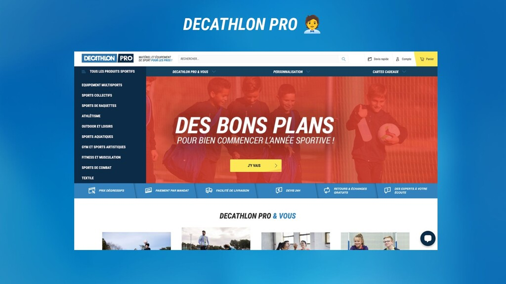 DECATHLON. DECATHLON PRO 