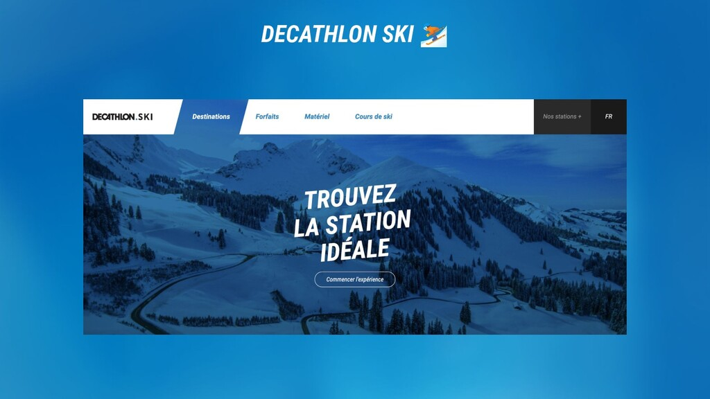 DECATHLON. DECATHLON SKI ⛷