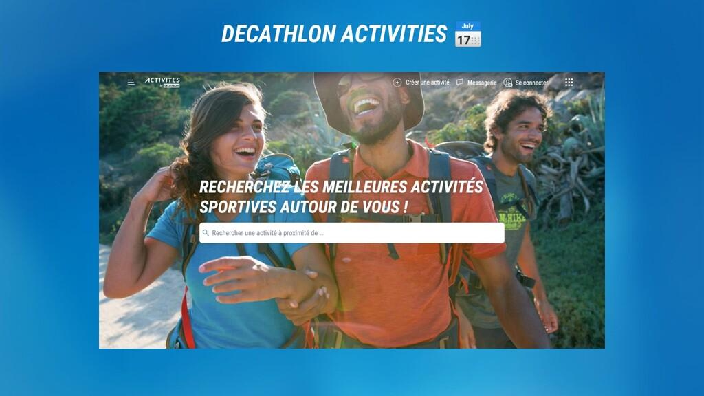 DECATHLON. DECATHLON ACTIVITIES 📅
