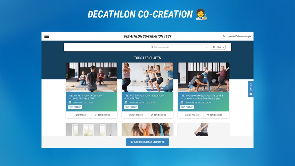 DECATHLON. DECATHLON CO-CREATION 