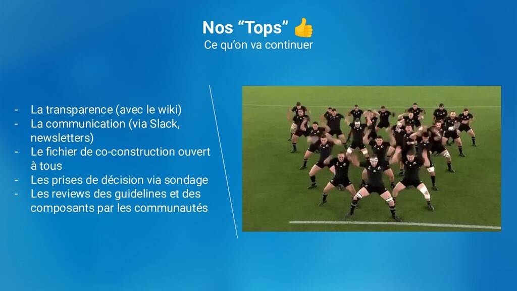 """Nos """"Tops"""" 👍 Ce qu'on va continuer - La transpa..."""