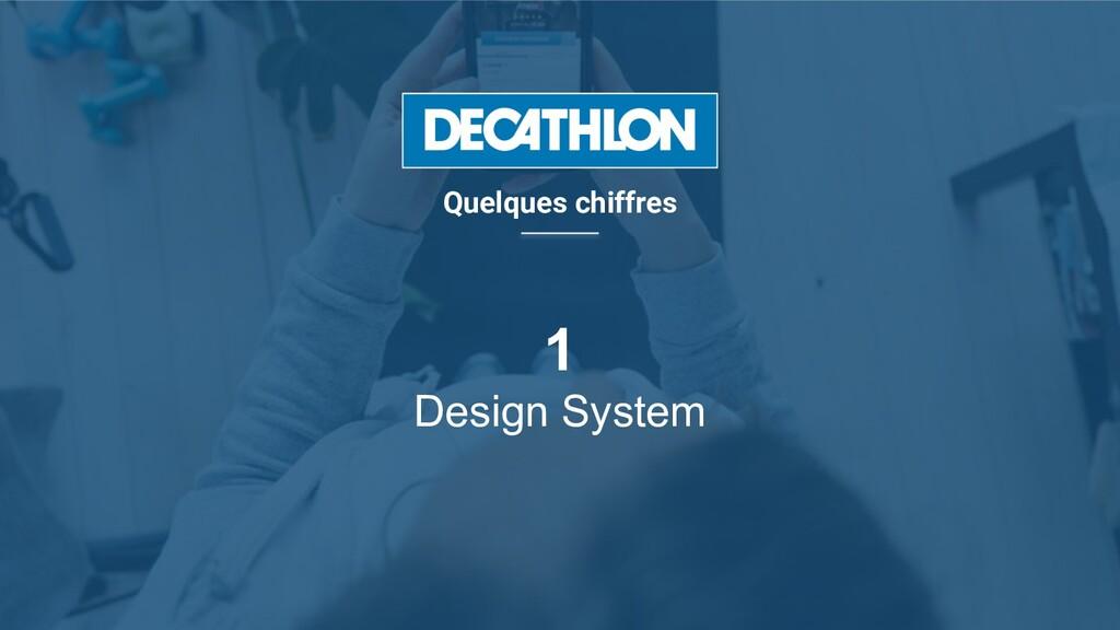 1 Design System Quelques chiffres