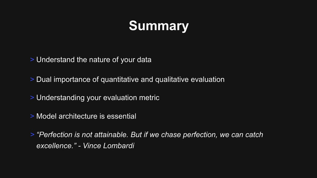 Summary > Understand the nature of your data > ...