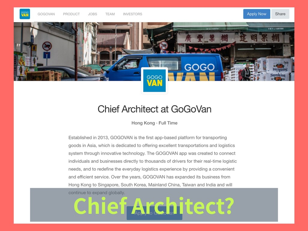 Chief Architect?