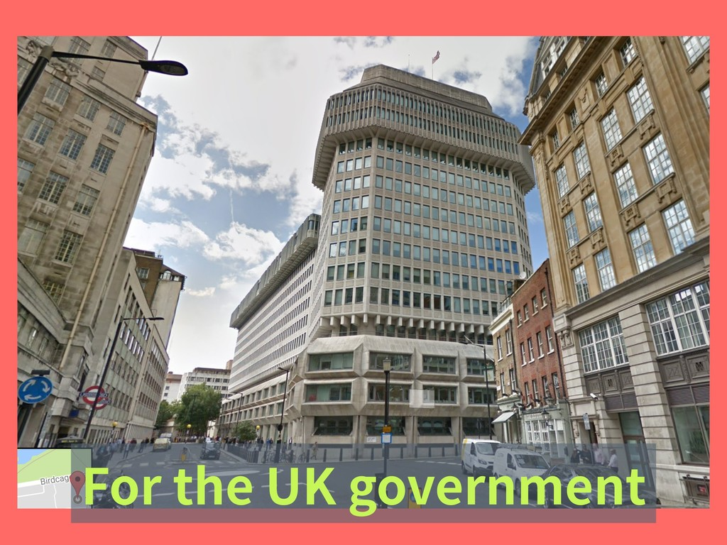 For the UK government