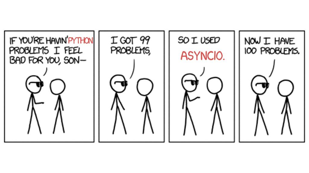 Python asyncio.