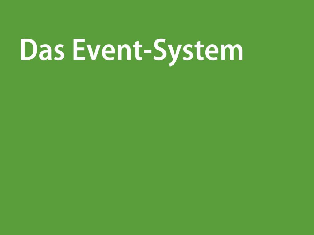 Das Event-System