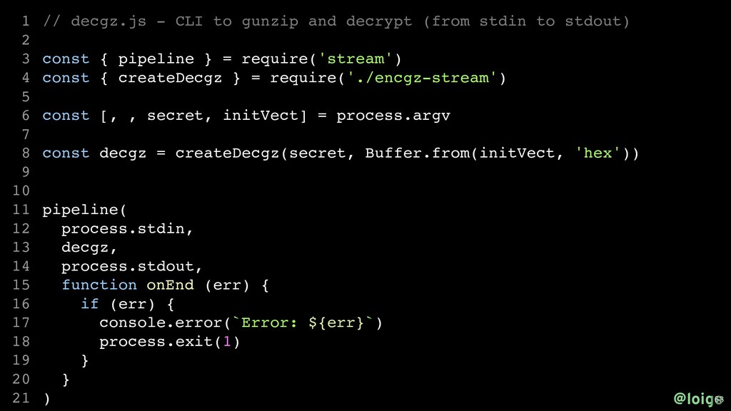 // decgz.js - CLI to gunzip and decrypt (from s...