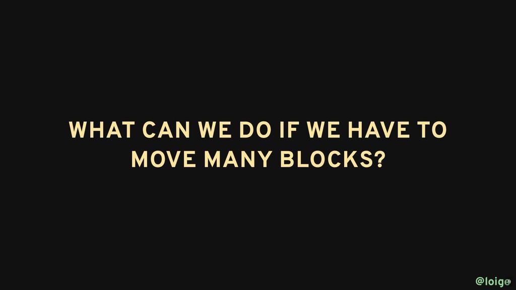 WHAT CAN WE DO IF WE HAVE TO WHAT CAN WE DO IF ...