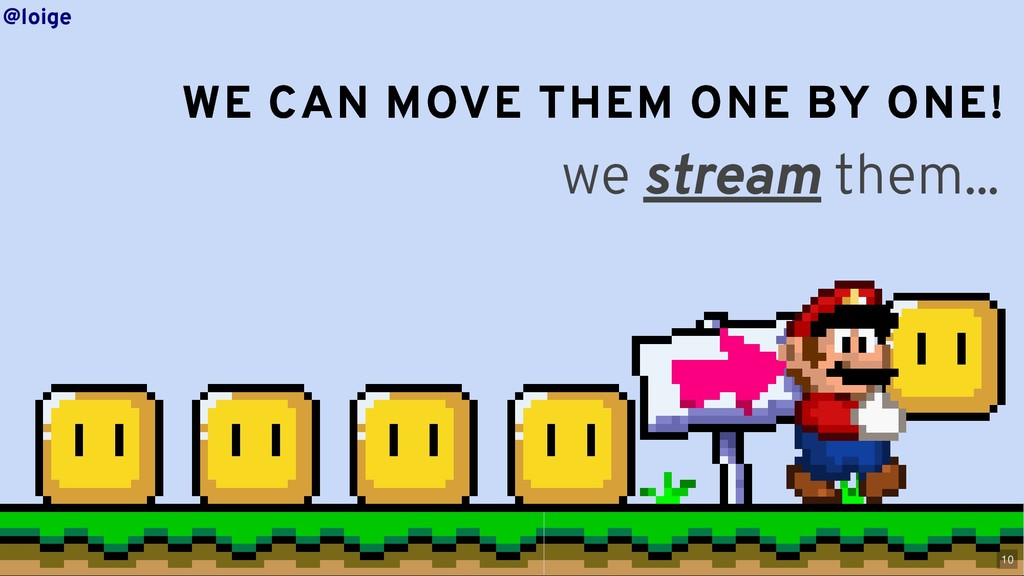 WE CAN MOVE THEM ONE BY ONE! WE CAN MOVE THEM O...