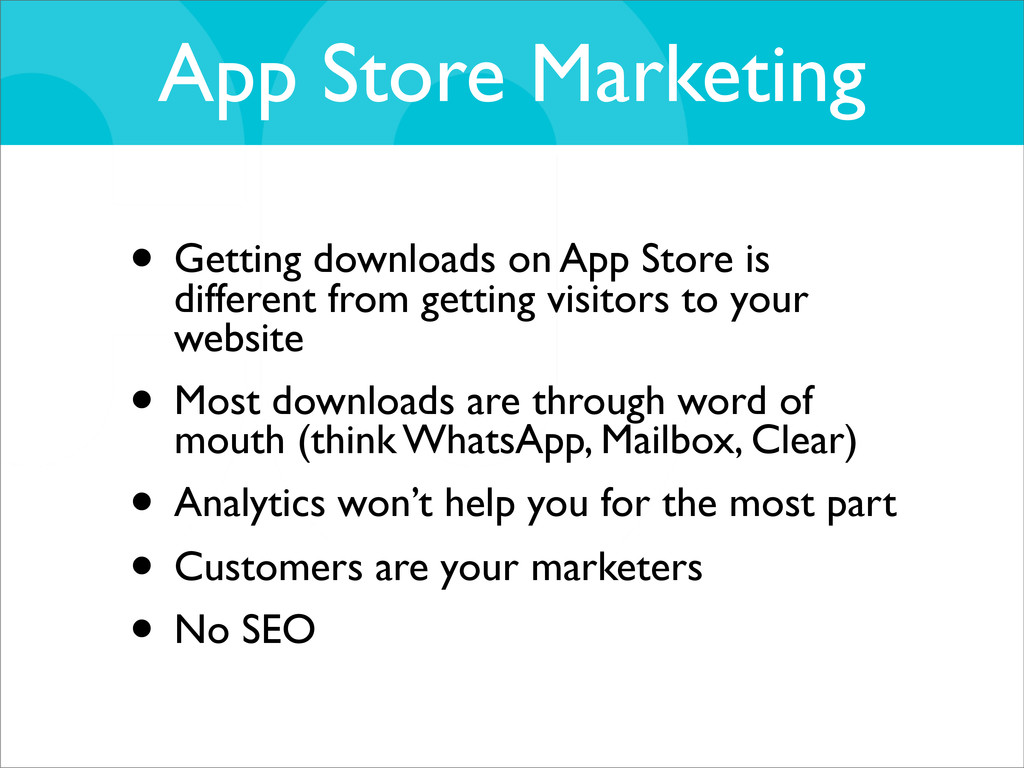App Store Marketing • Getting downloads on App ...