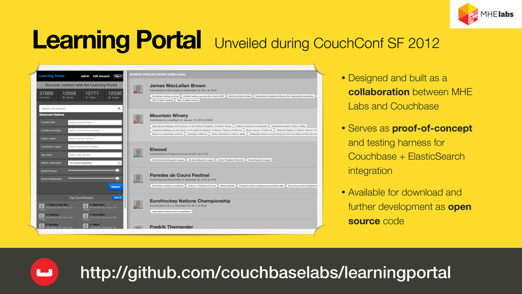 Learning Portal • Designed and built as a colla...