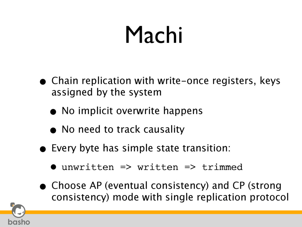Machi • Chain replication with write-once regis...