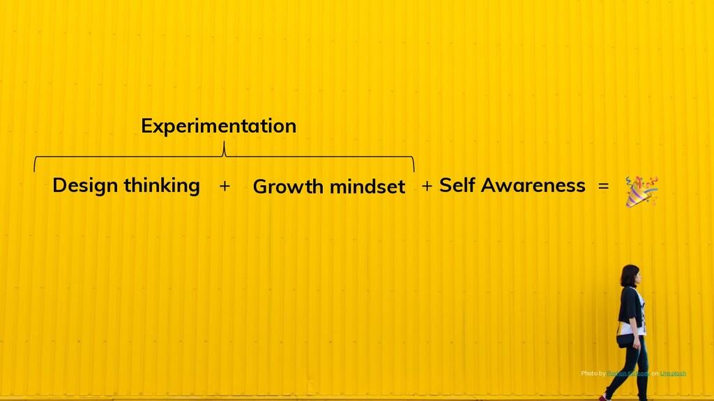 Design thinking Growth mindset Self Awareness P...