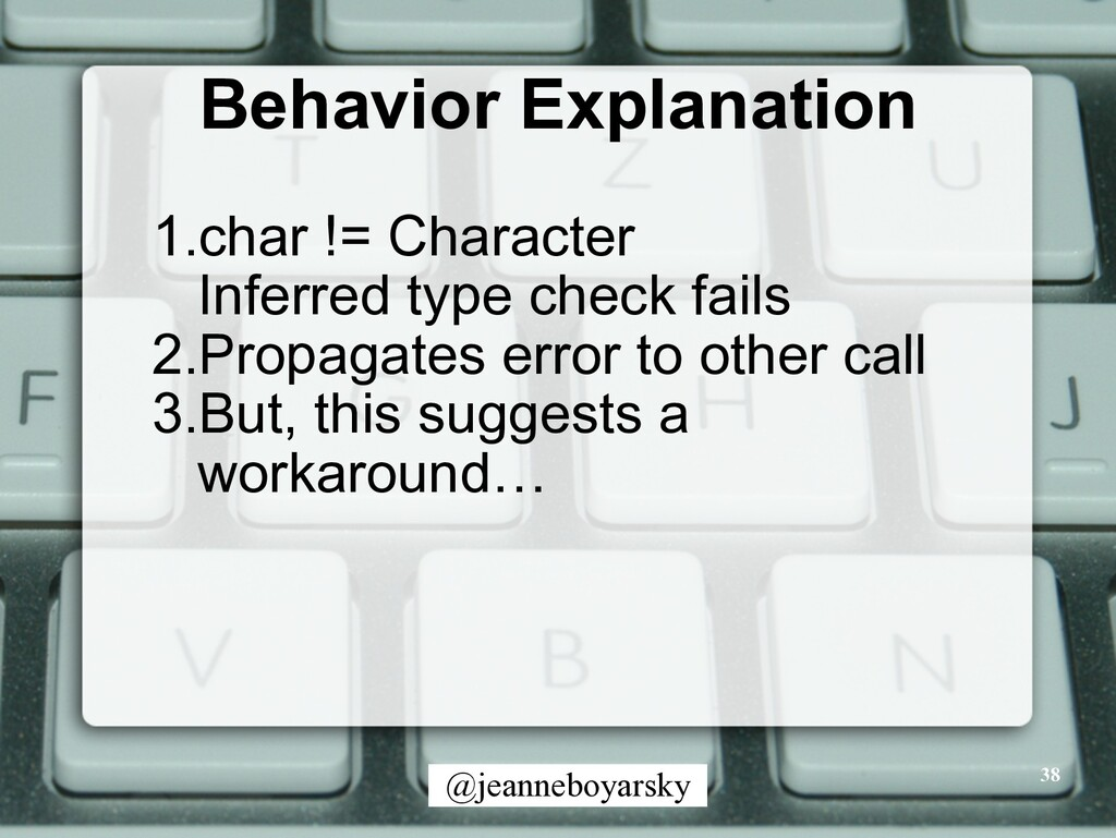 @jeanneboyarsky Behavior Explanation 38 1.char ...