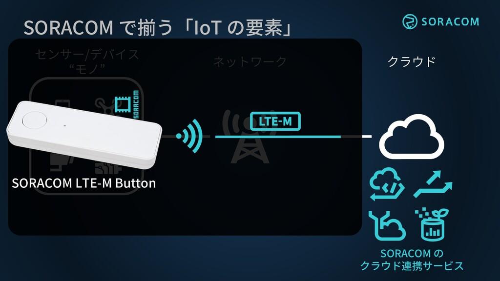 """クラウド ネットワーク センサー/デバイス """"モノ"""" SORACOM で揃う「IoT の要素」..."""