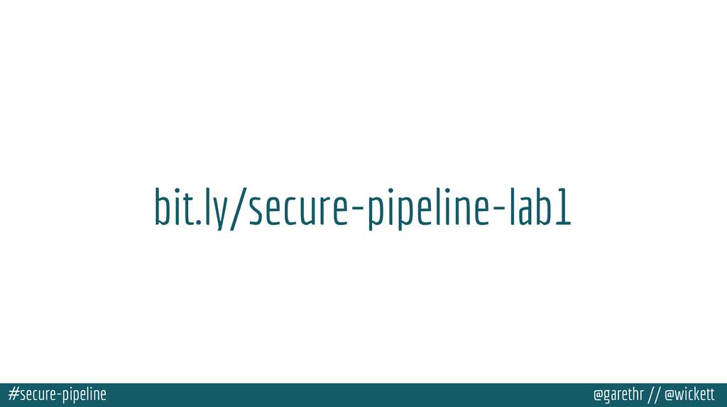 #secure-pipeline @garethr // @wickett bit.ly/se...