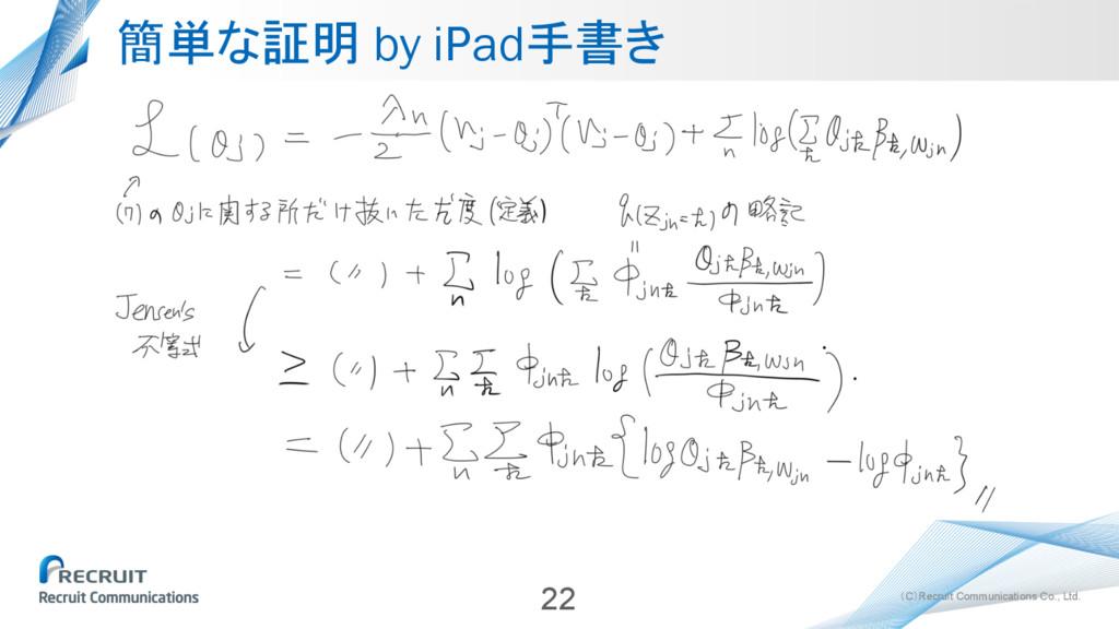(C)Recruit Communications Co., Ltd. 簡単な証明 by iP...