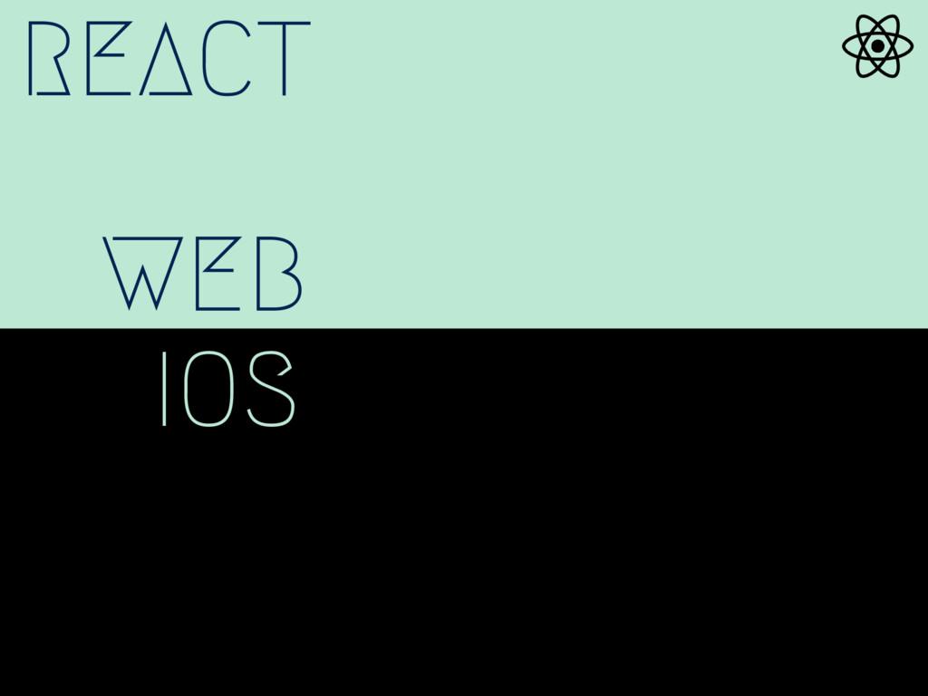 REACT WEB IOS