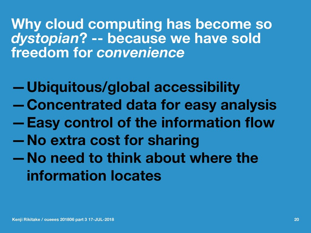 Why cloud computing has become so dystopian? --...