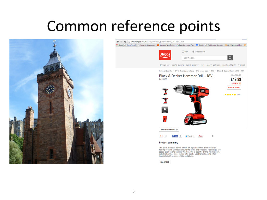 Common reference points  5
