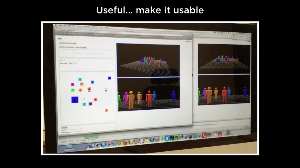 Useful… make it usable