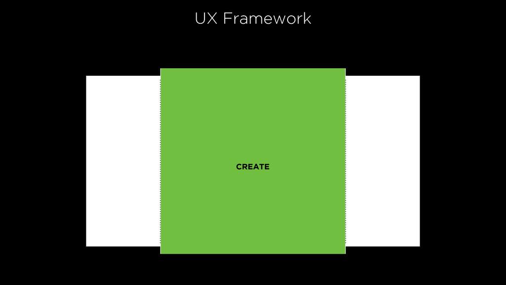 UX Framework CREATE