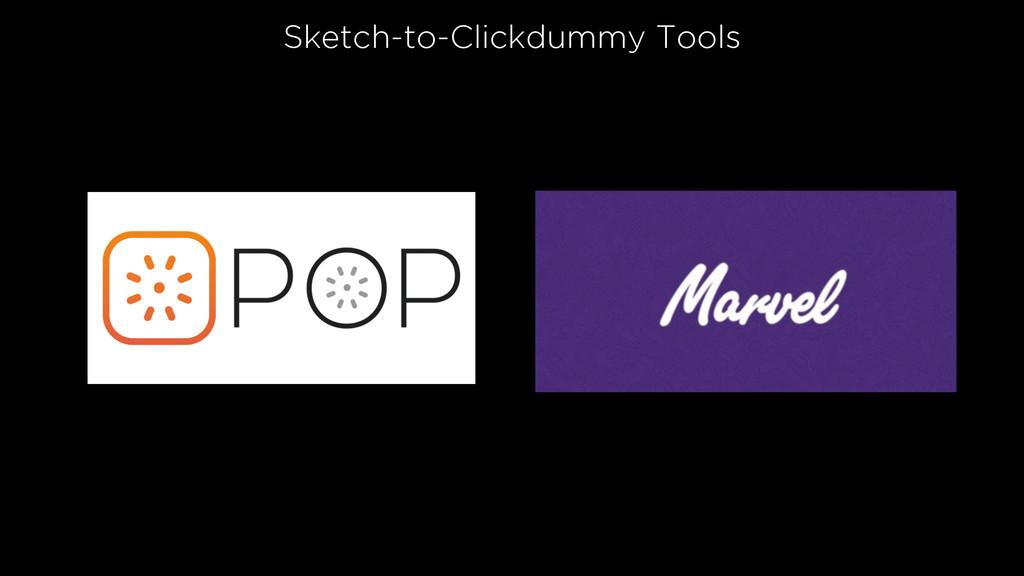 Sketch-to-Clickdummy Tools