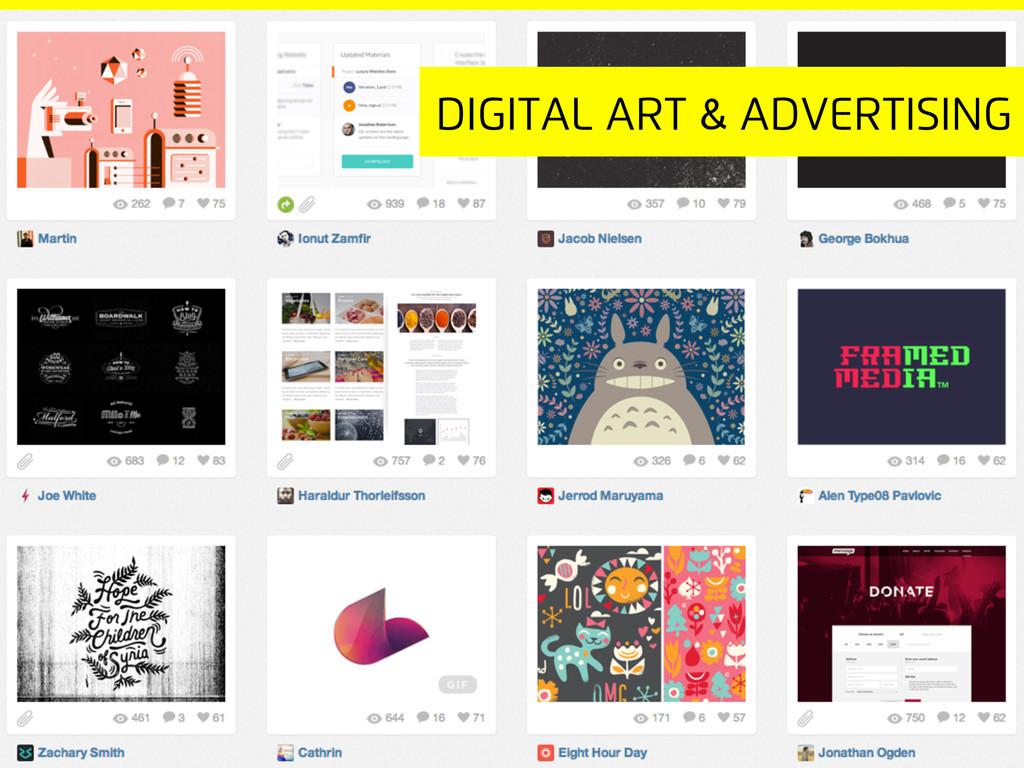 Digital Art & advertising