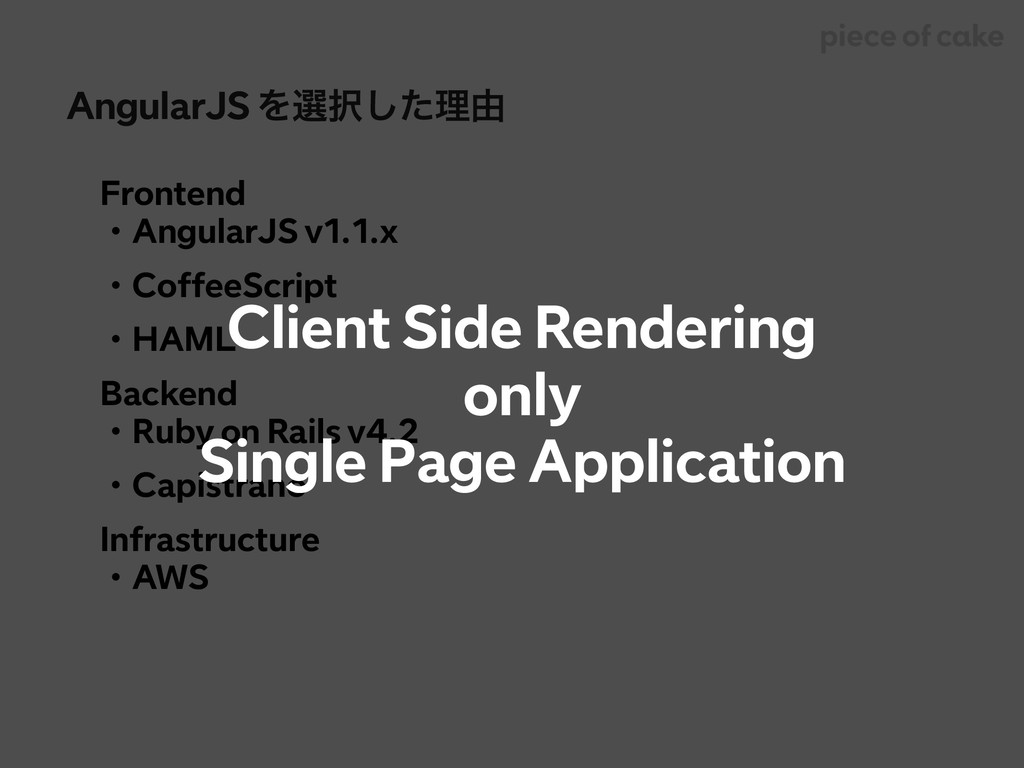 AngularJS Λબͨ͠ཧ༝ Frontend ɾAngularJS v1.1.x ɾC...