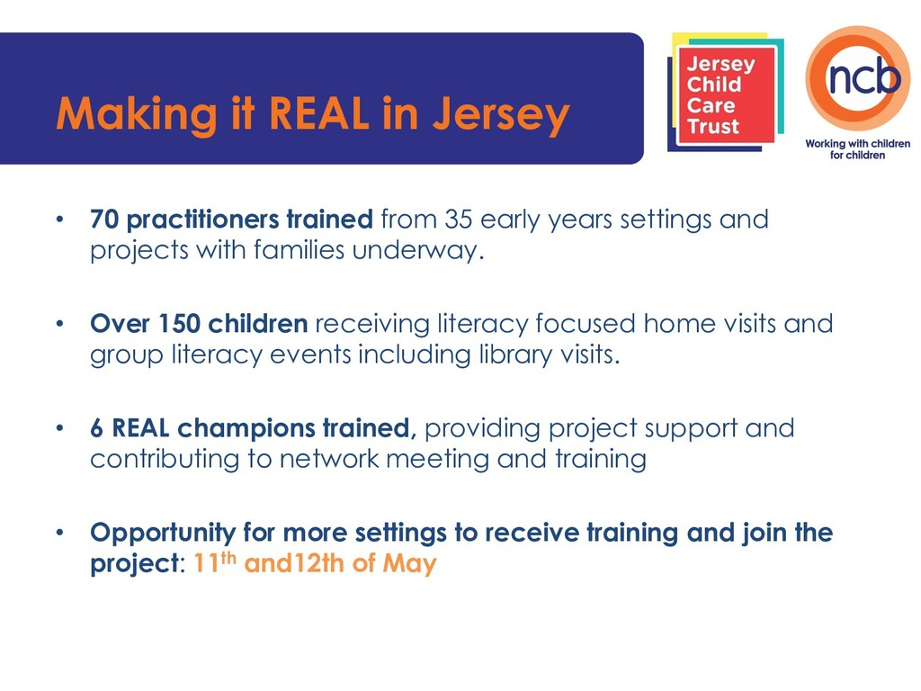 Making it REAL in Jersey • 70 practitioners tra...