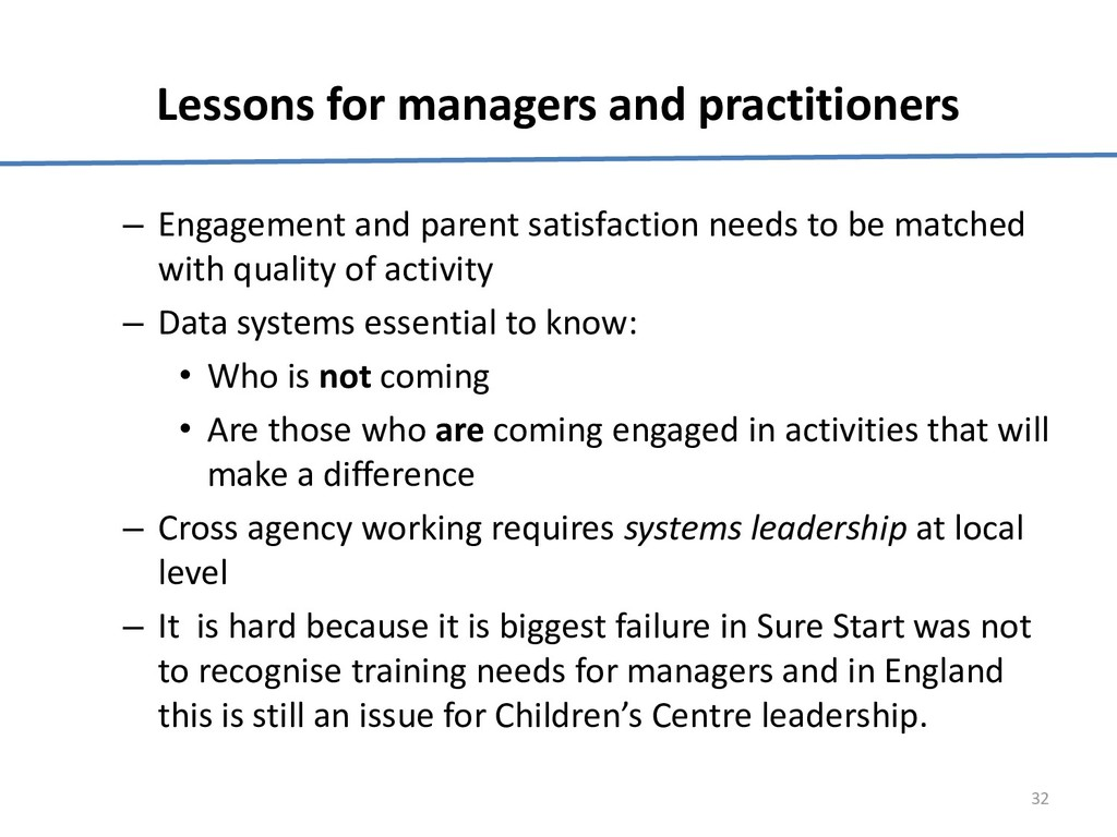Lessons for managers and practitioners – Engage...