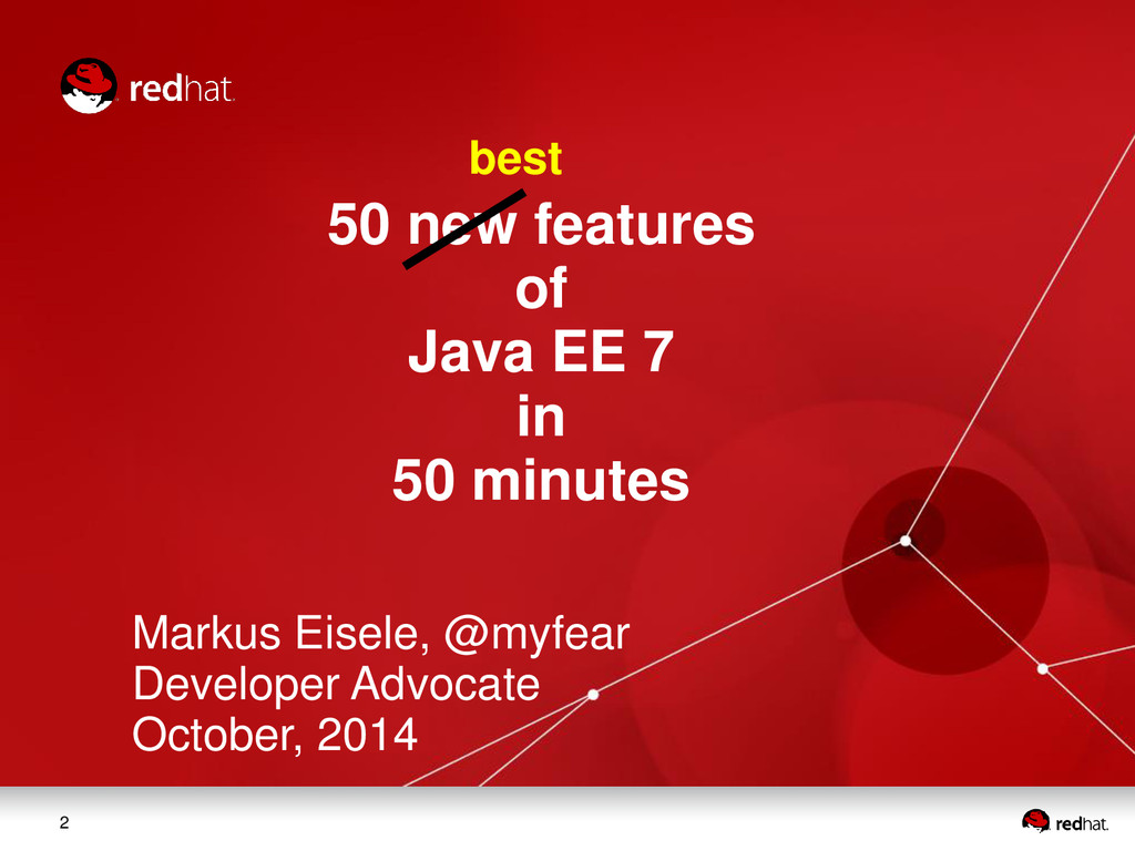 2 50 new features of Java EE 7 in 50 minutes Ma...