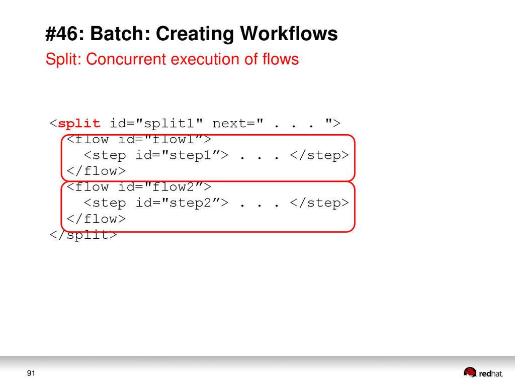 "91 #46: Batch: Creating Workflows <split id=""sp..."