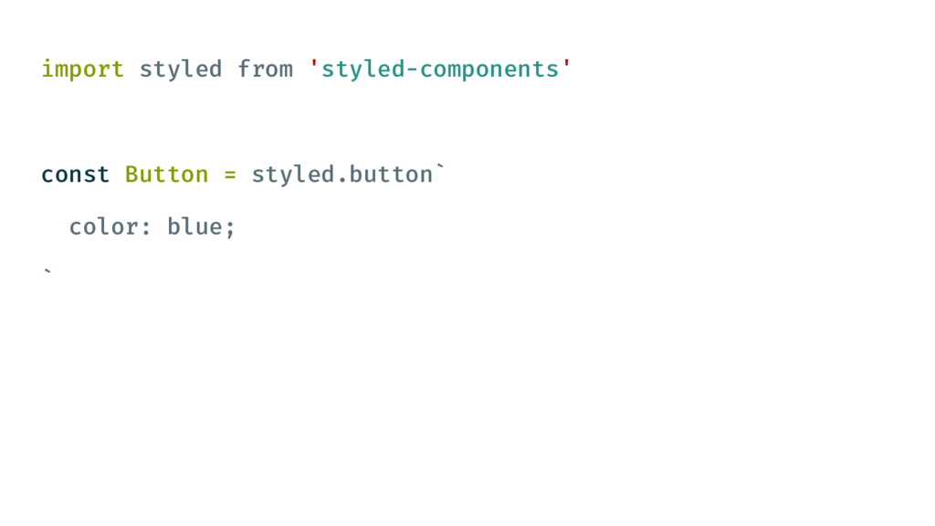 import styled from 'styled-components' const Bu...