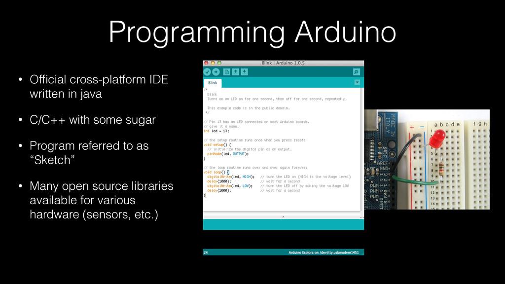 Programming Arduino • Official cross-platform ID...